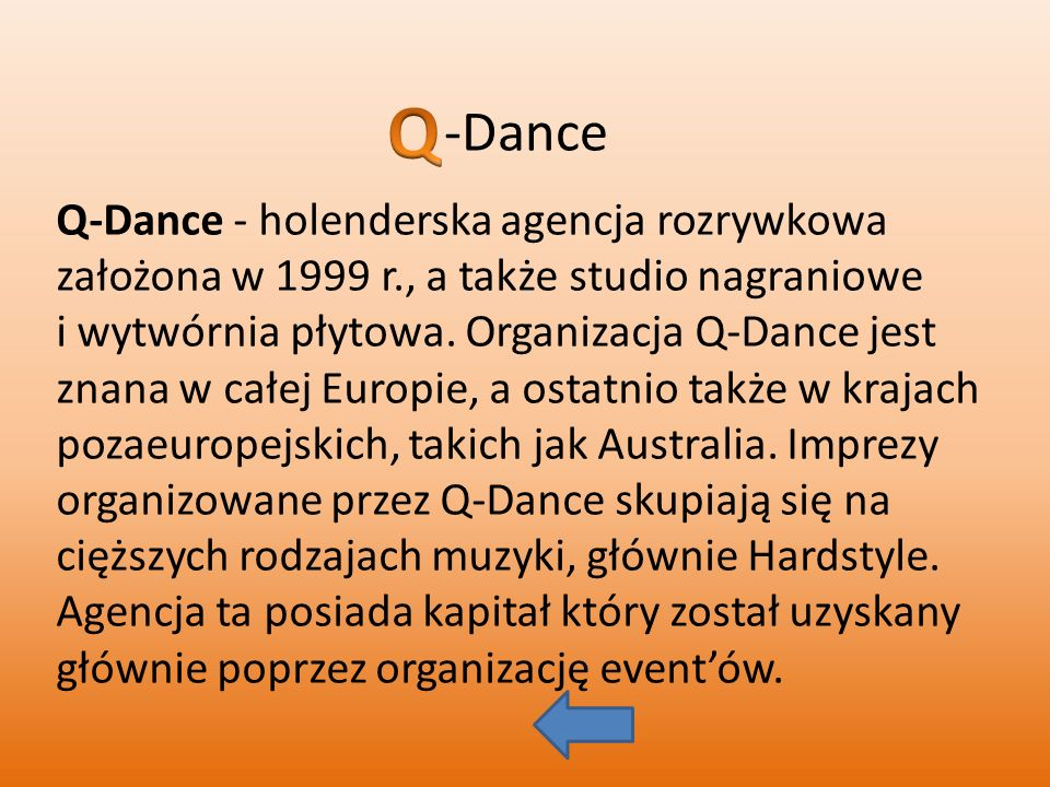 -Dance Q.