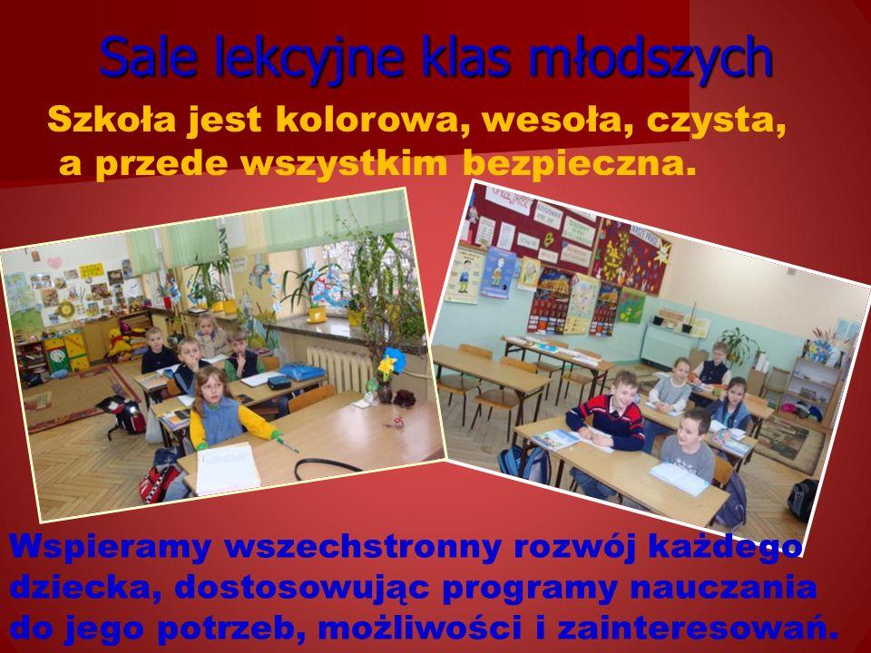 Sale lekcyjne klas młodszych