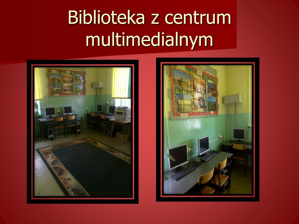 Biblioteka z centrum multimedialnym