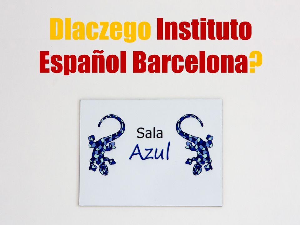 Dlaczego Instituto Español Barcelona