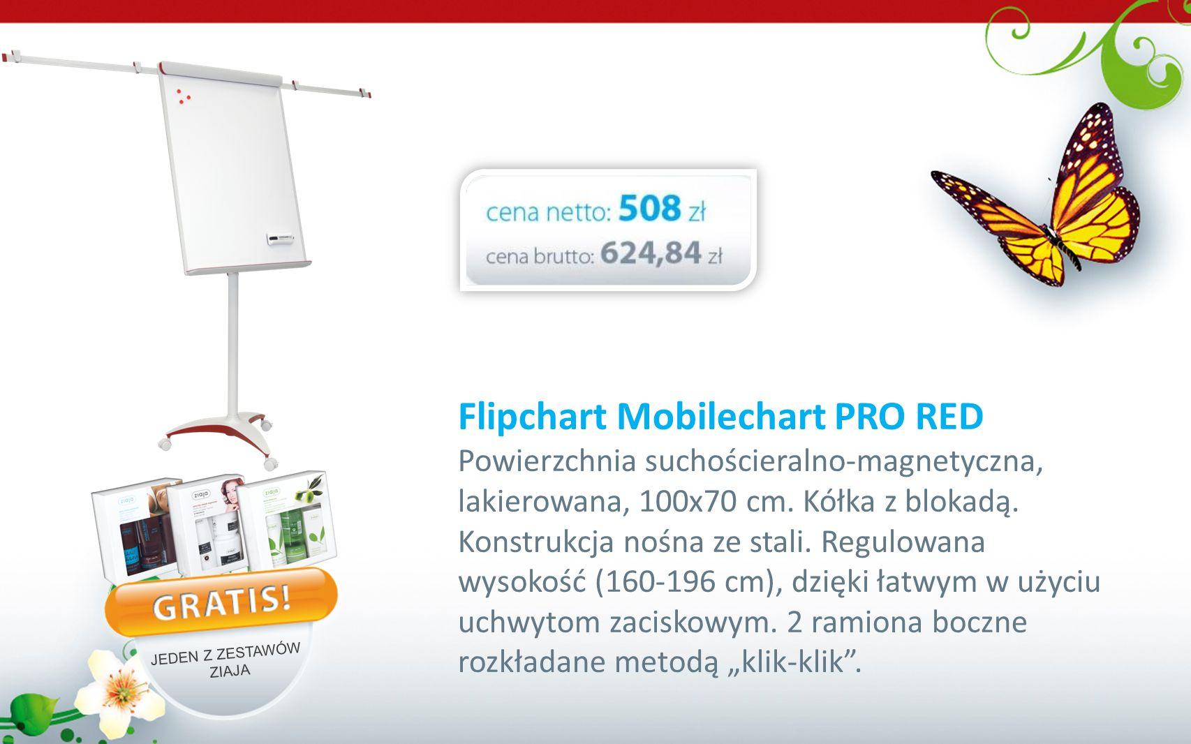Flipchart Mobilechart PRO RED