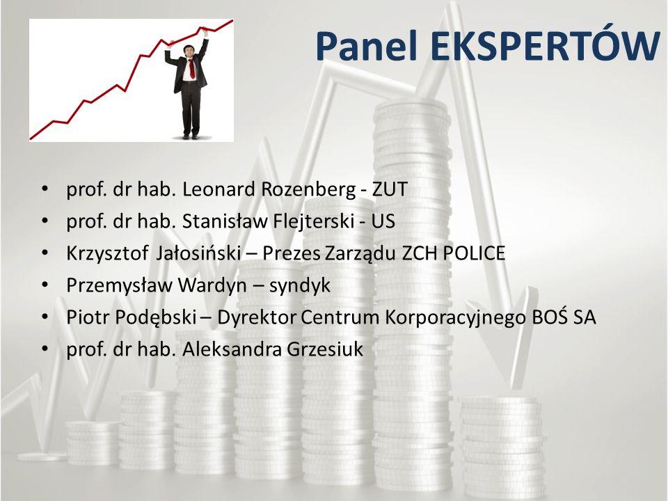 Panel EKSPERTÓW prof. dr hab. Leonard Rozenberg - ZUT