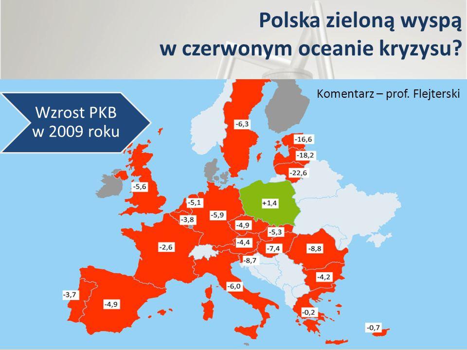 Polska zieloną wyspą w czerwonym oceanie kryzysu