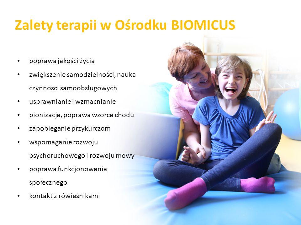 Zalety terapii w Ośrodku BIOMICUS