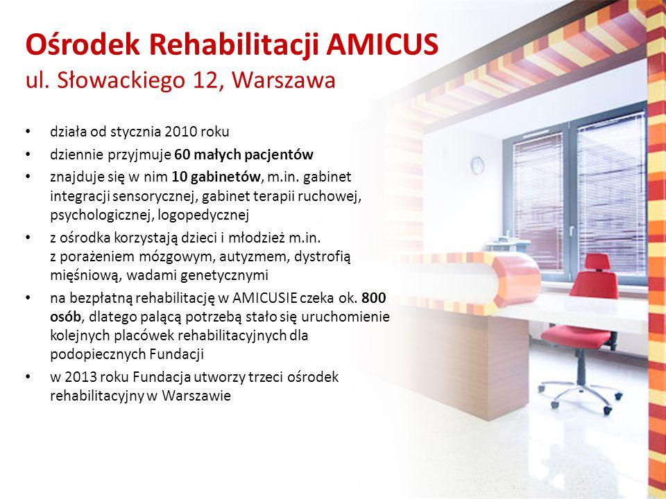 Ośrodek Rehabilitacji AMICUS ul. Słowackiego 12, Warszawa