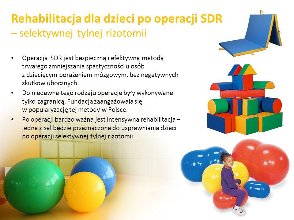 Rehabilitacja dla dzieci po operacji SDR – selektywnej tylnej rizotomii