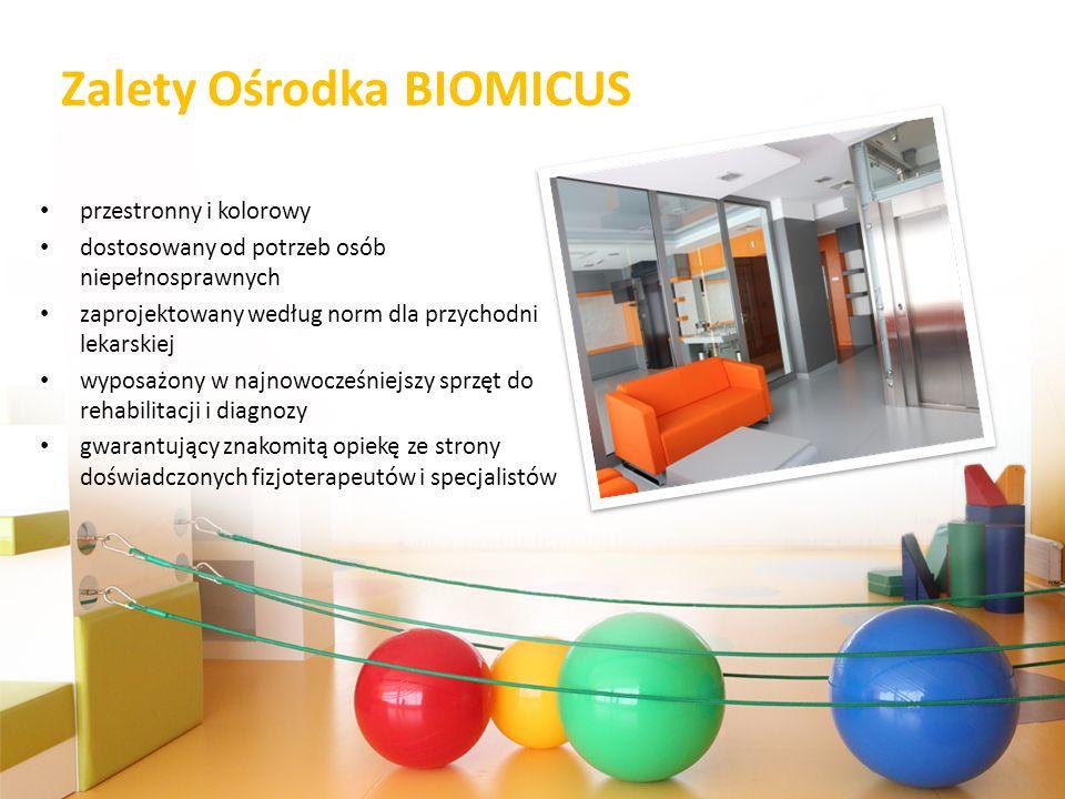 Zalety Ośrodka BIOMICUS