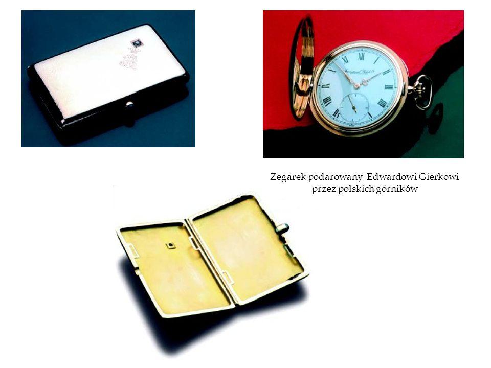 Zegarek podarowany Edwardowi Gierkowi przez polskich górników