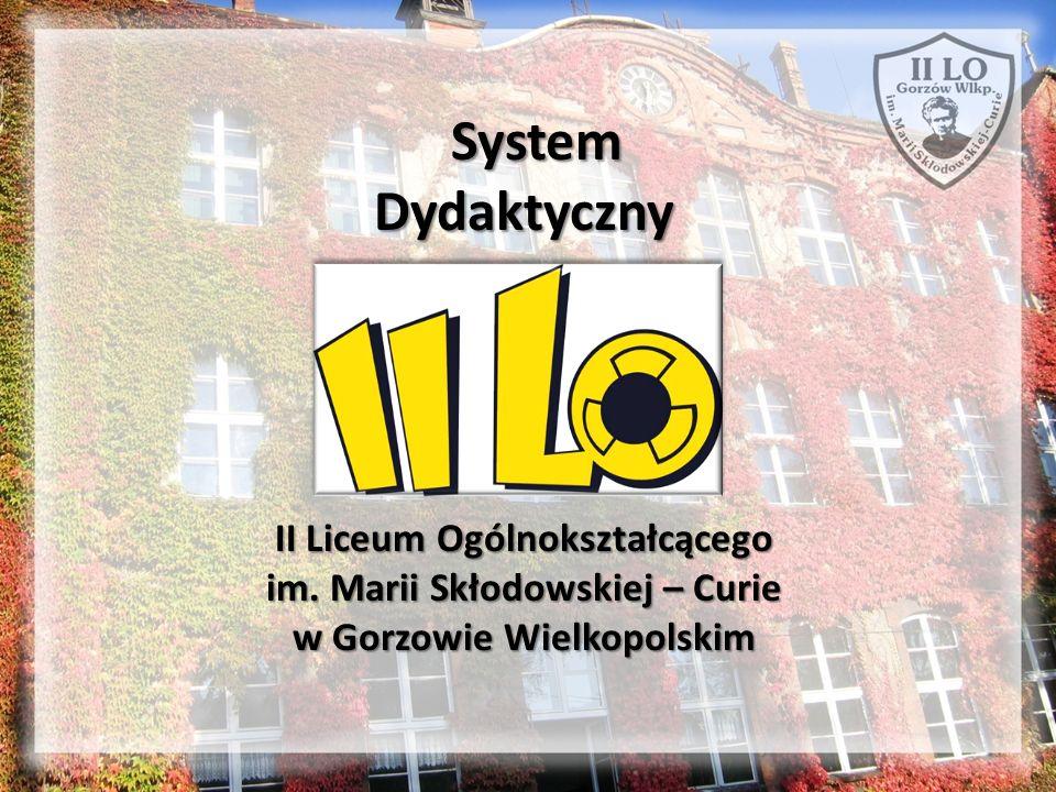 System Dydaktyczny II Liceum Ogólnokształcącego