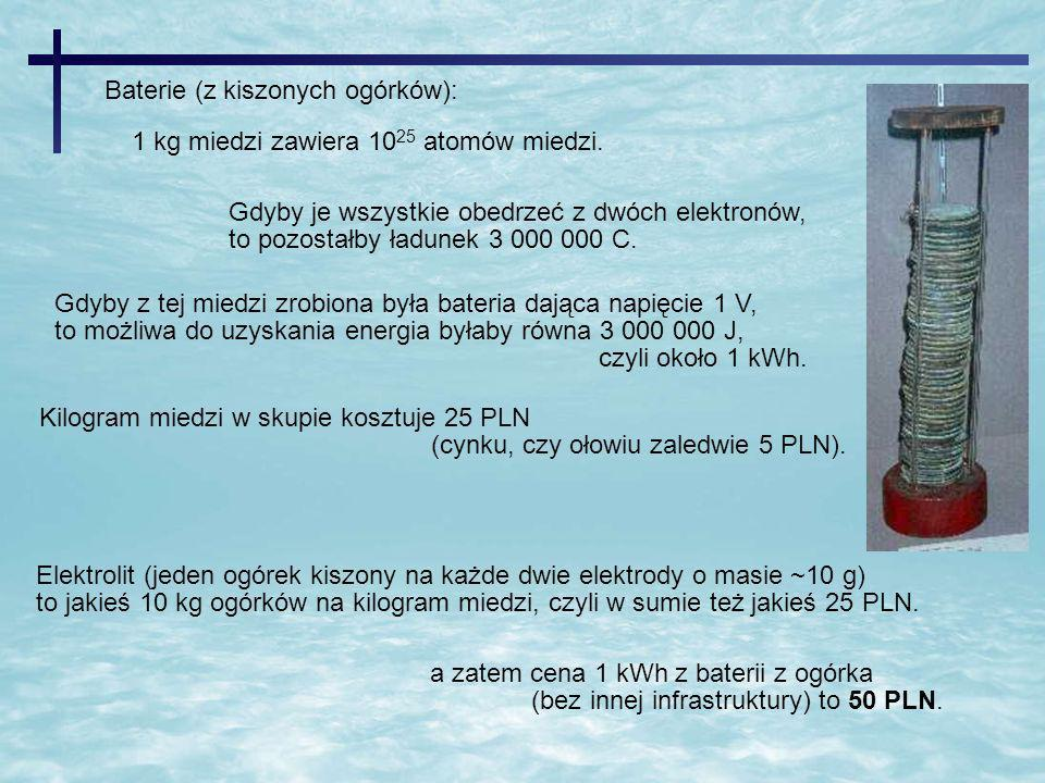 Baterie (z kiszonych ogórków):