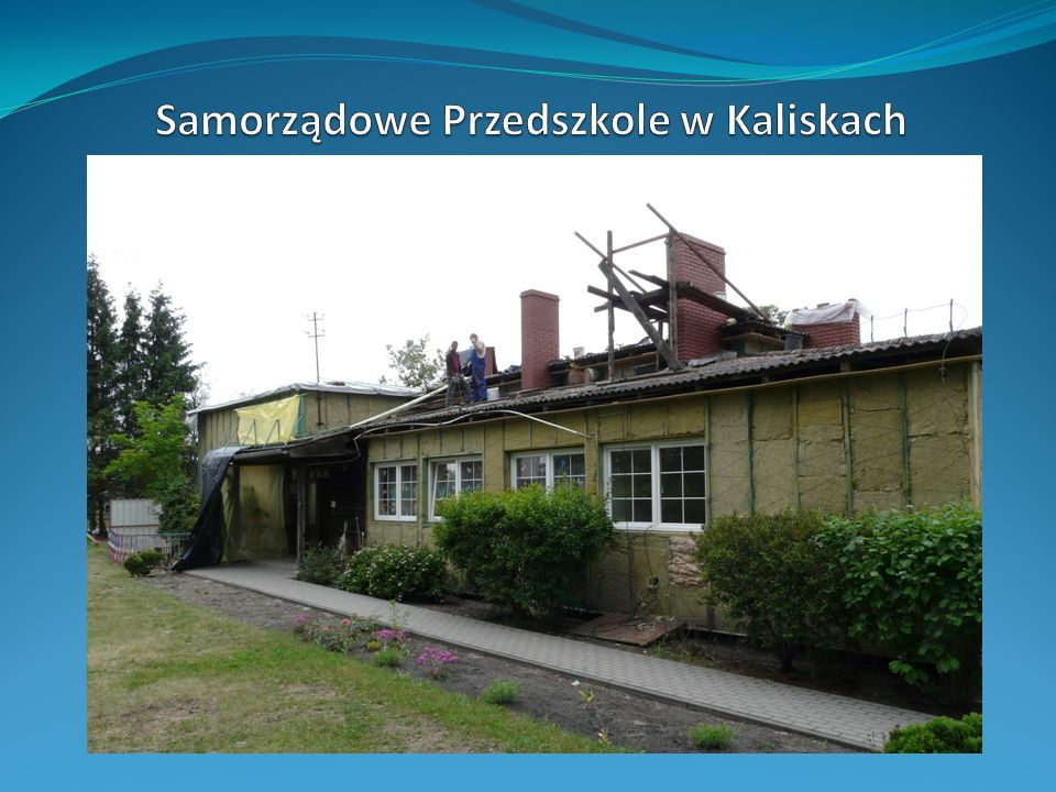 Samorządowe Przedszkole w Kaliskach