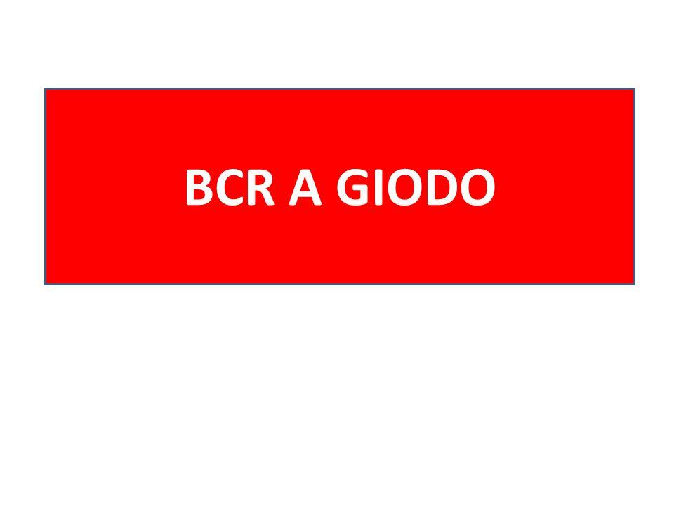 BCR A GIODO