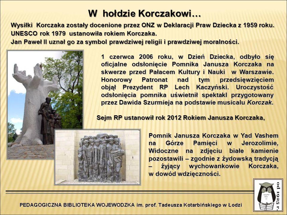 W hołdzie Korczakowi…