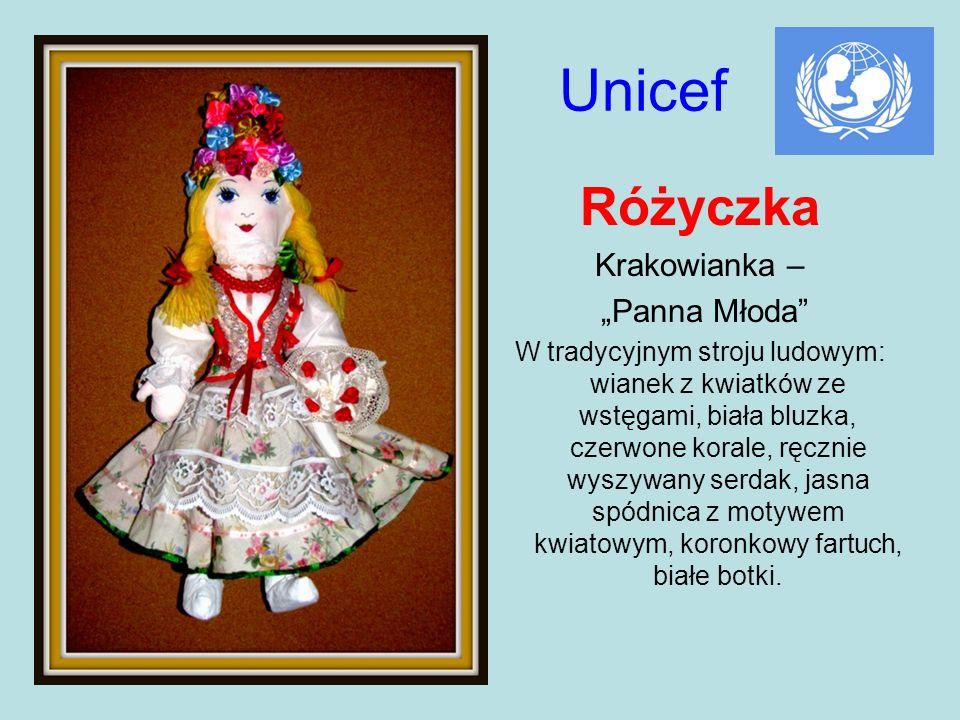 """Unicef Różyczka Krakowianka – """"Panna Młoda"""