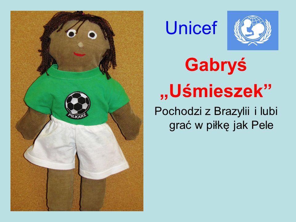 Pochodzi z Brazylii i lubi grać w piłkę jak Pele