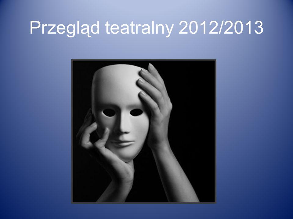 Przegląd teatralny 2012/2013