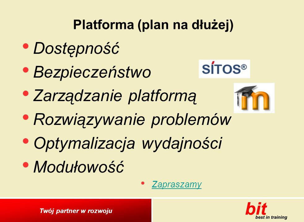 Platforma (plan na dłużej)