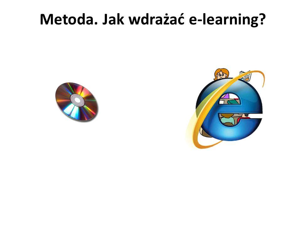 Metoda. Jak wdrażać e-learning