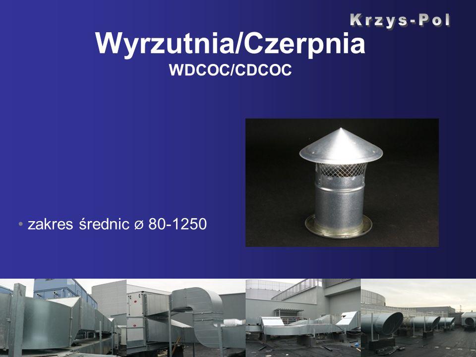 Wyrzutnia/Czerpnia WDCOC/CDCOC