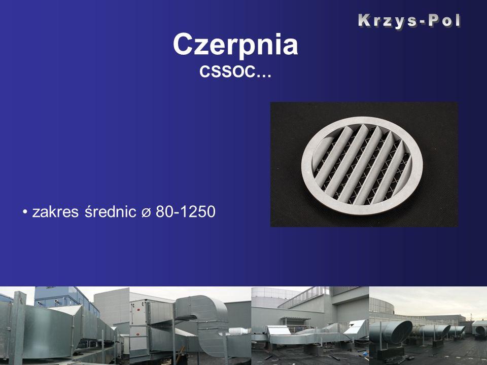 Czerpnia CSSOC… Krzys-Pol zakres średnic Ø 80-1250