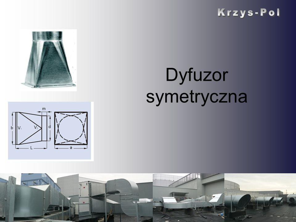 Krzys-Pol Dyfuzor symetryczna Krzys-Pol