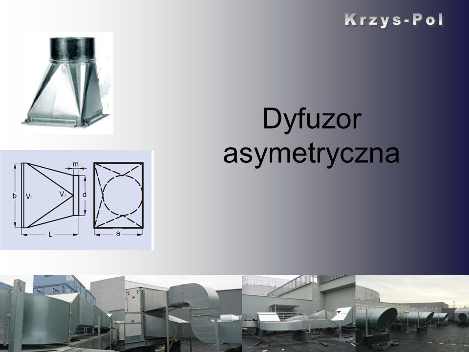 Krzys-Pol Dyfuzor asymetryczna Krzys-Pol