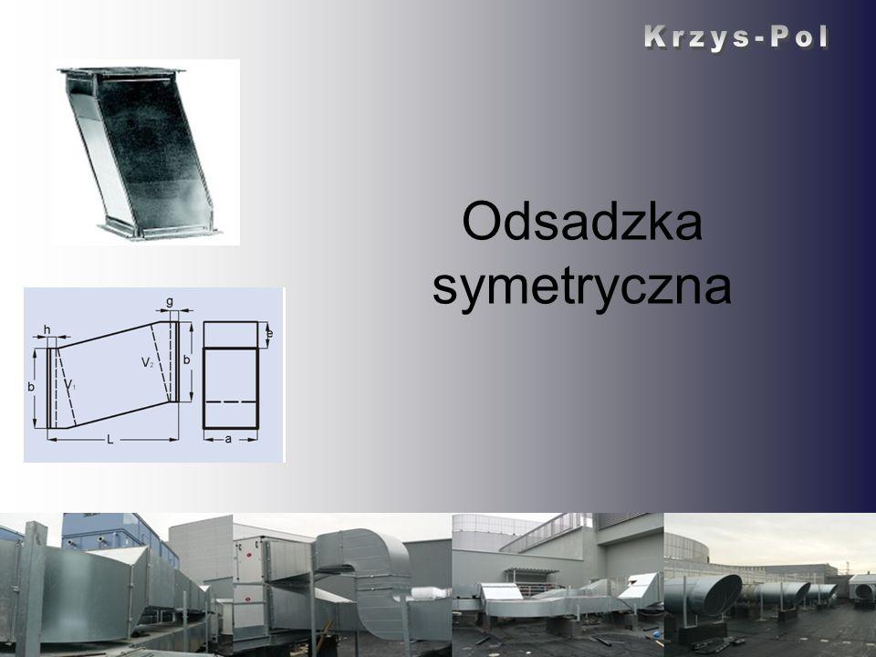 Krzys-Pol Odsadzka symetryczna Krzys-Pol
