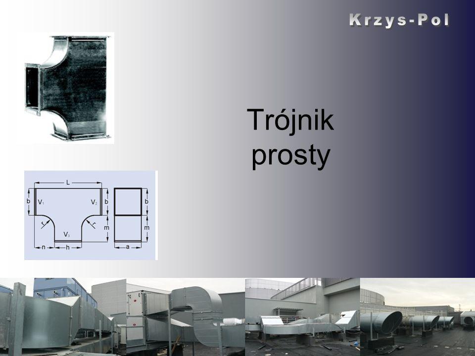 Krzys-Pol Trójnik prosty Krzys-Pol