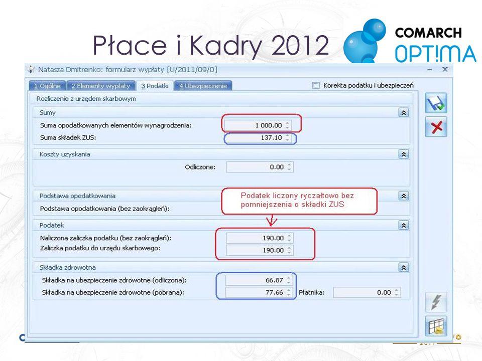 Płace i Kadry 2012 Nowe możliwości dla umów cywilnoprawnych