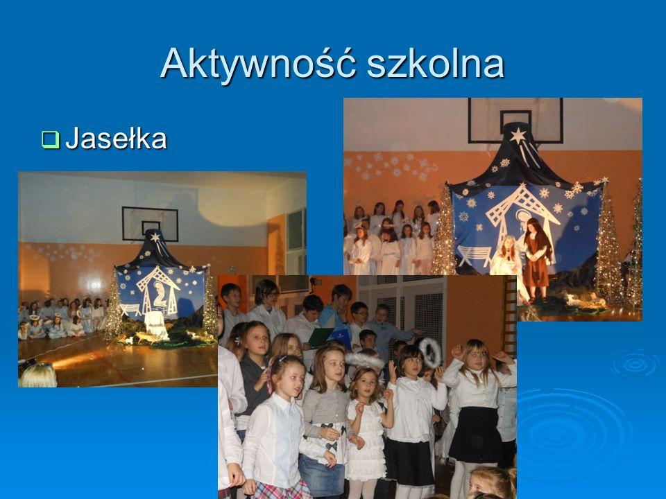 Aktywność szkolna Jasełka
