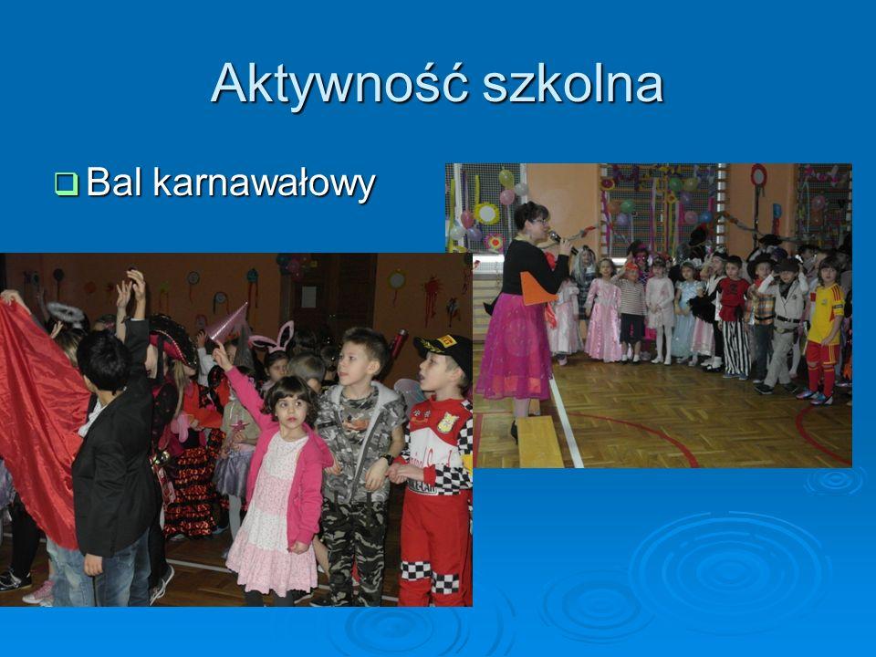 Aktywność szkolna Bal karnawałowy