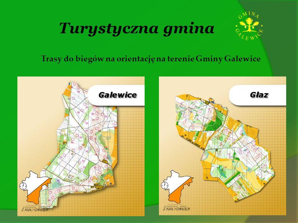 Trasy do biegów na orientację na terenie Gminy Galewice