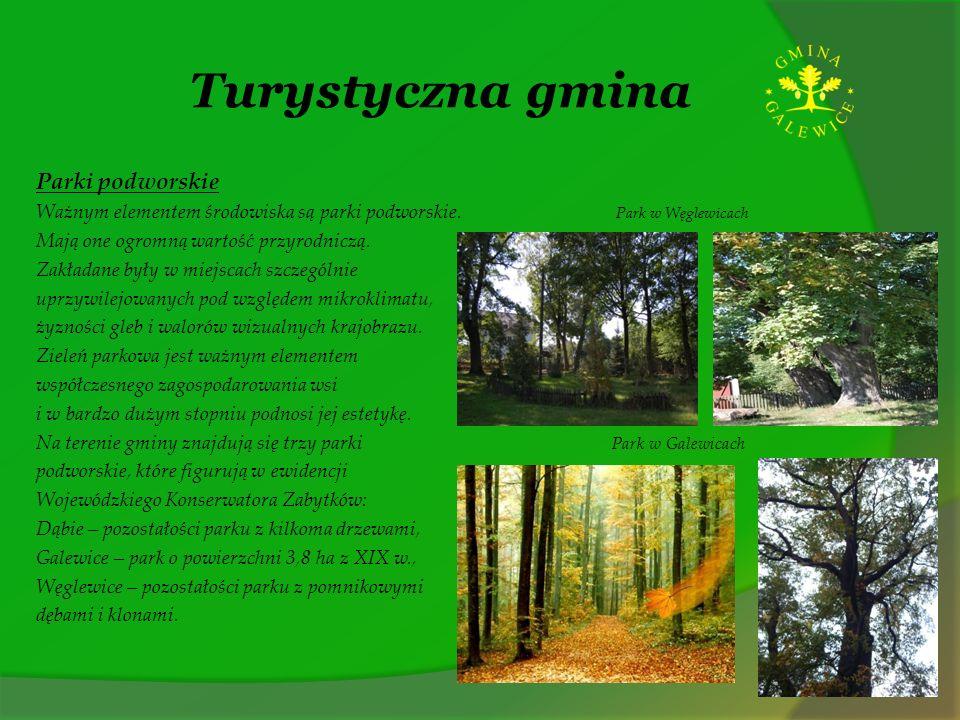 Turystyczna gmina Parki podworskie