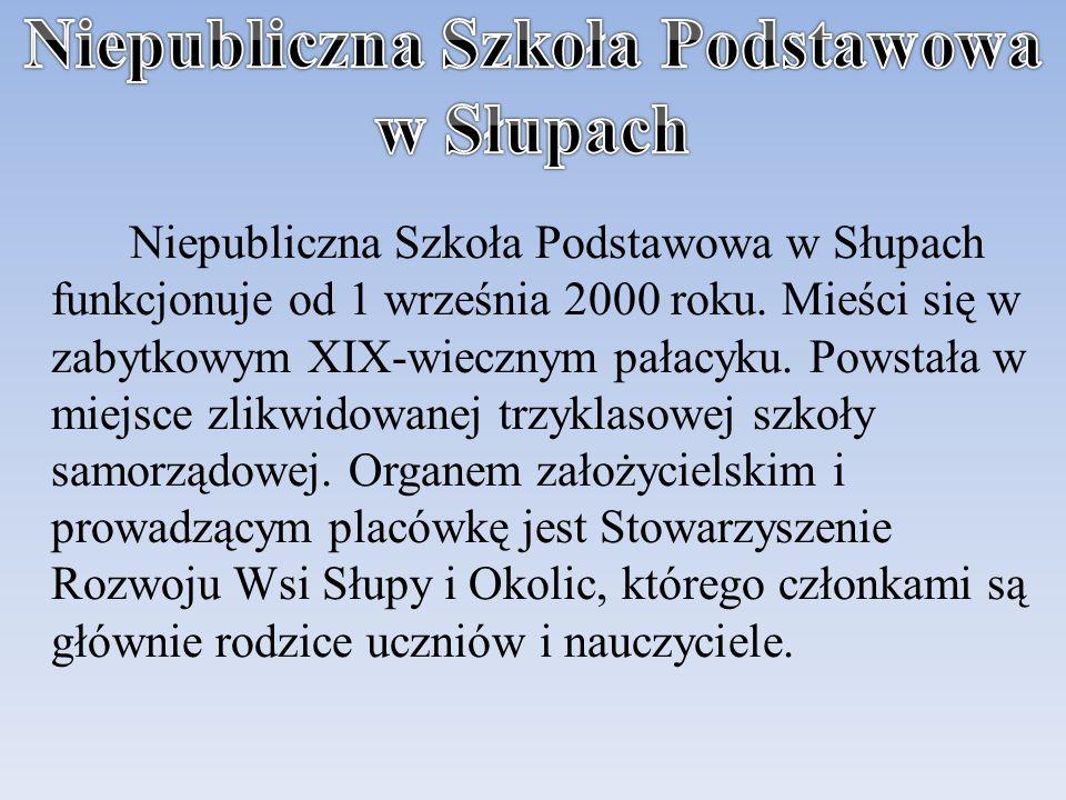 Niepubliczna Szkoła Podstawowa w Słupach