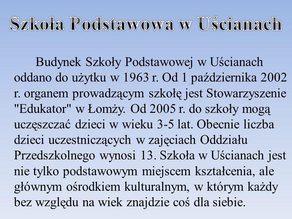 Szkoła Podstawowa w Uścianach