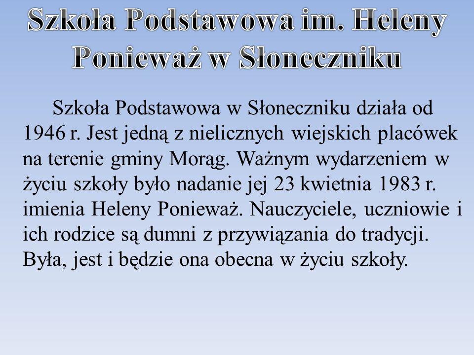 Szkoła Podstawowa im. Heleny Ponieważ w Słoneczniku