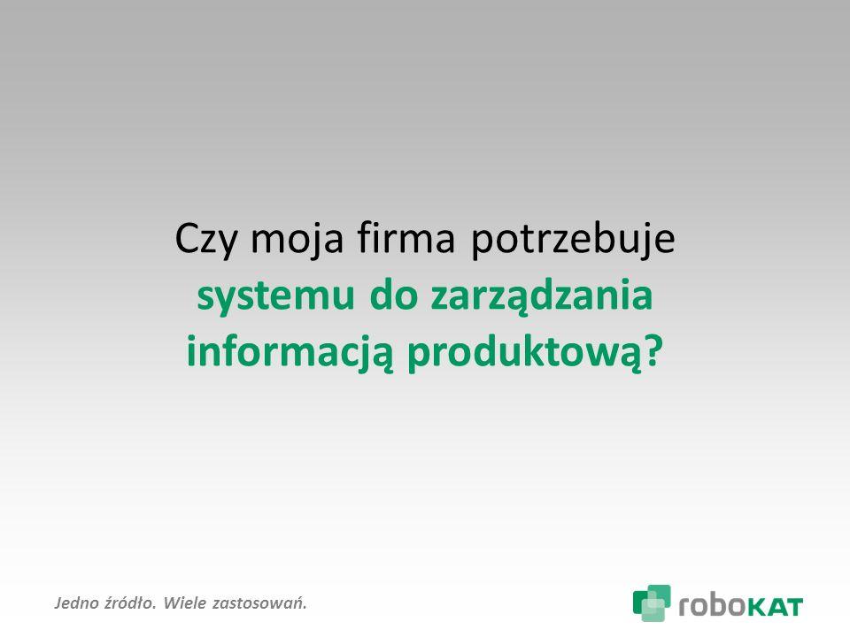 systemu do zarządzania informacją produktową