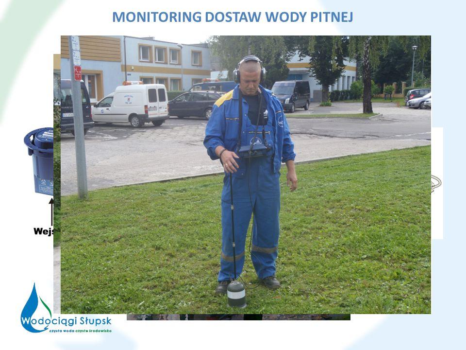 MONITORING DOSTAW WODY PITNEJ
