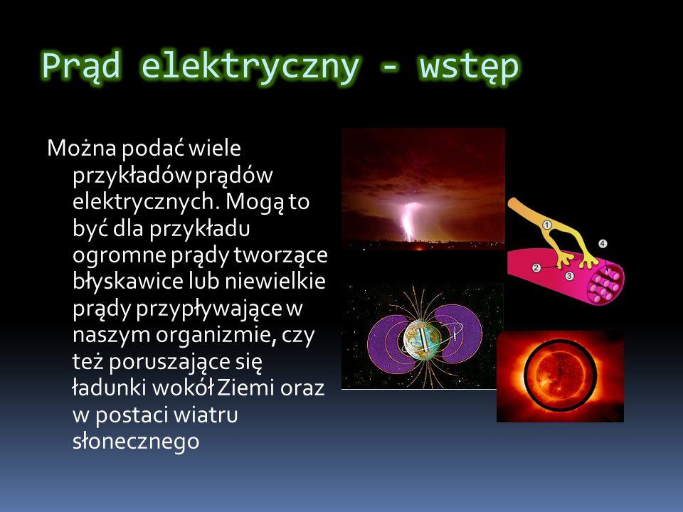 Prąd elektryczny - wstęp
