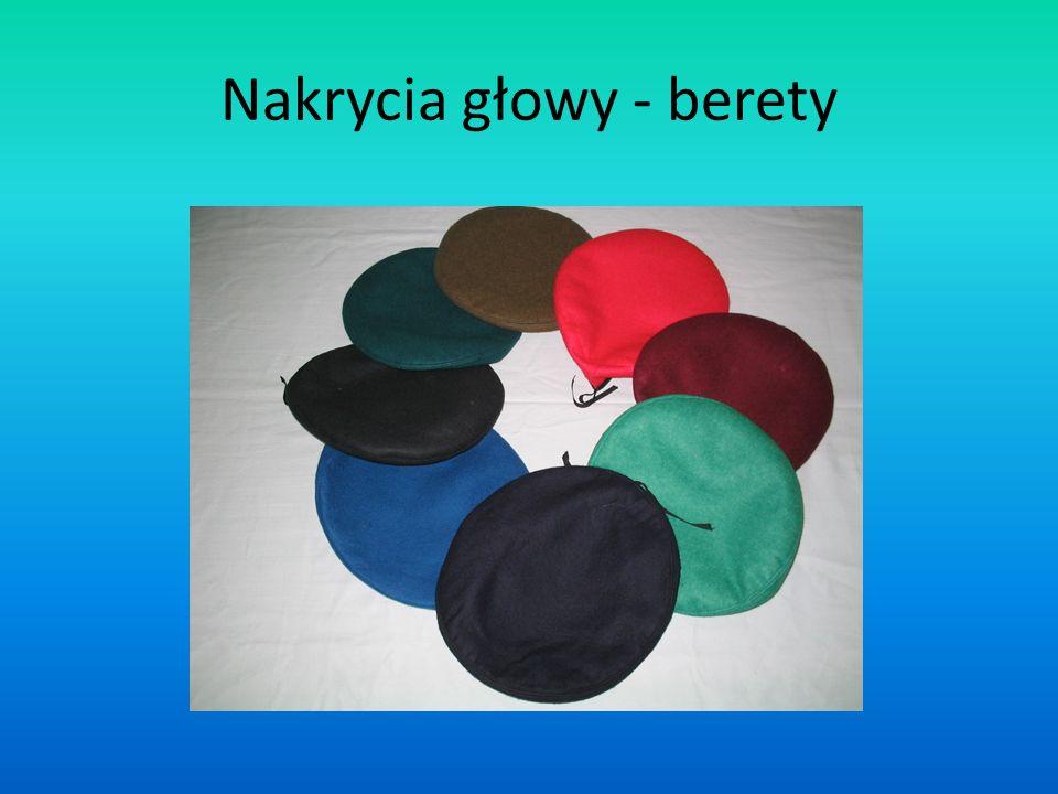 Nakrycia głowy - berety
