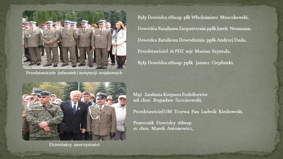 Były Dowódca 16bsap płk Włodzimierz Mroczkowski,