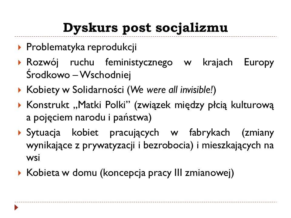 Dyskurs post socjalizmu