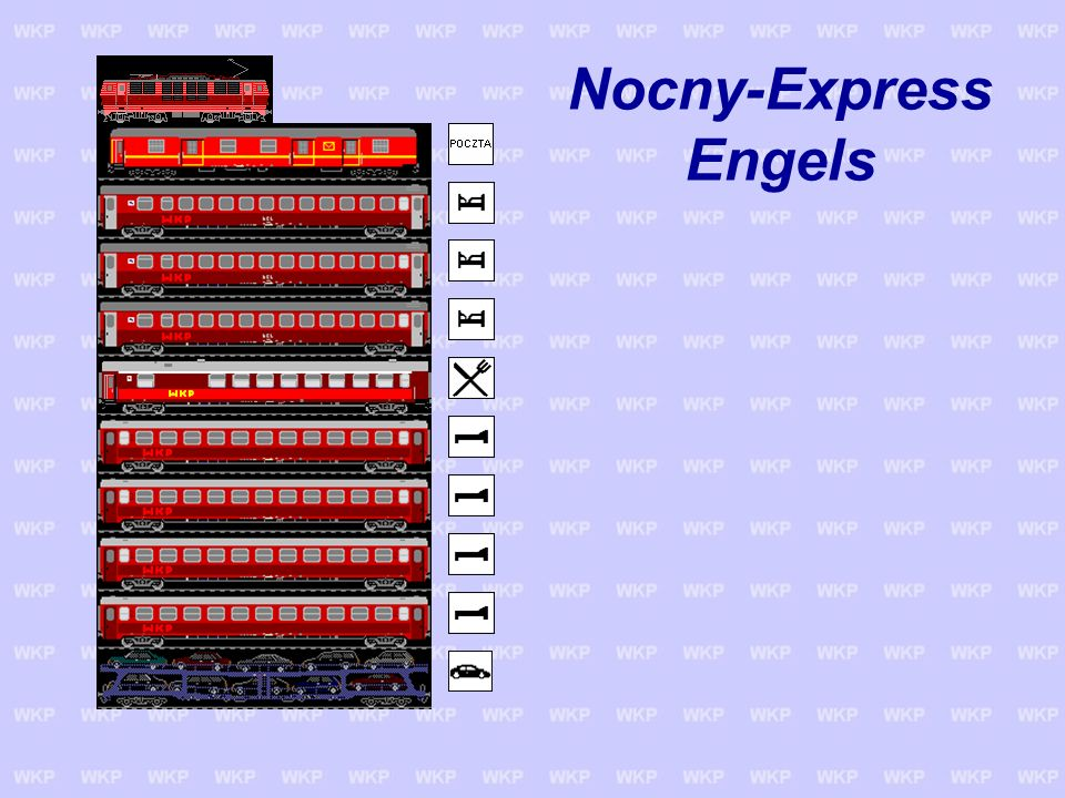 Nocny-Express Engels