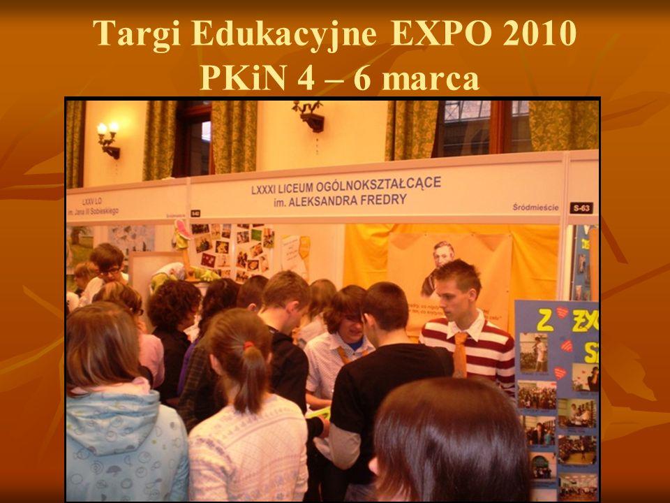 Targi Edukacyjne EXPO 2010 PKiN 4 – 6 marca