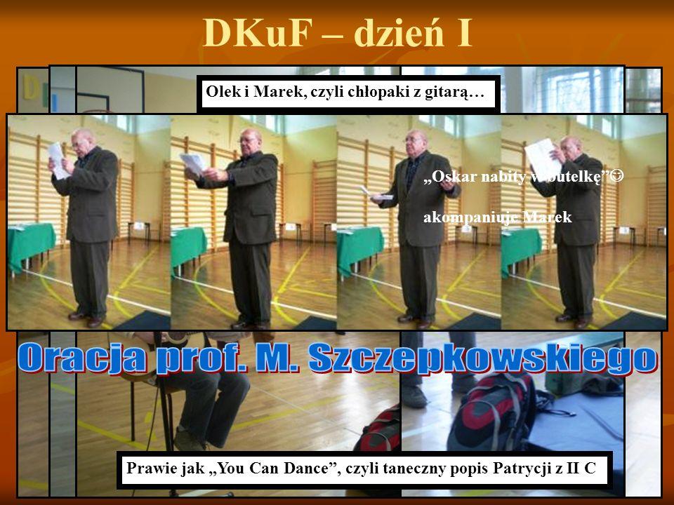 Oracja prof. M. Szczepkowskiego
