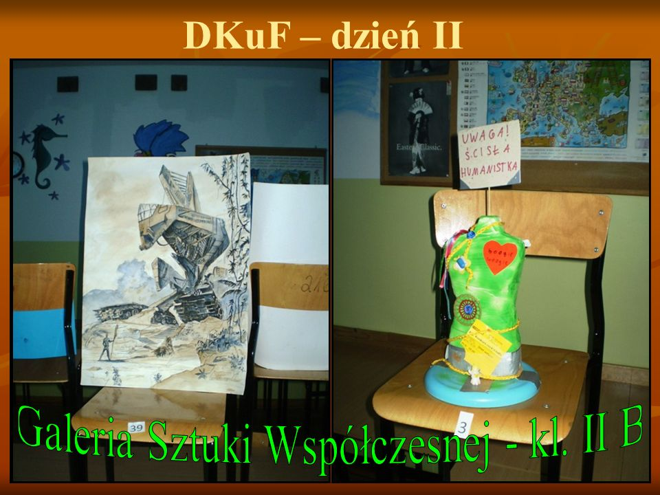 Galeria Sztuki Współczesnej - kl. II B