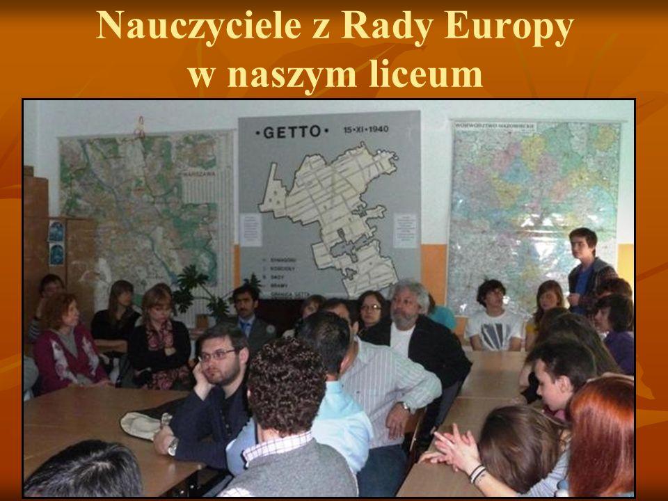 Nauczyciele z Rady Europy w naszym liceum