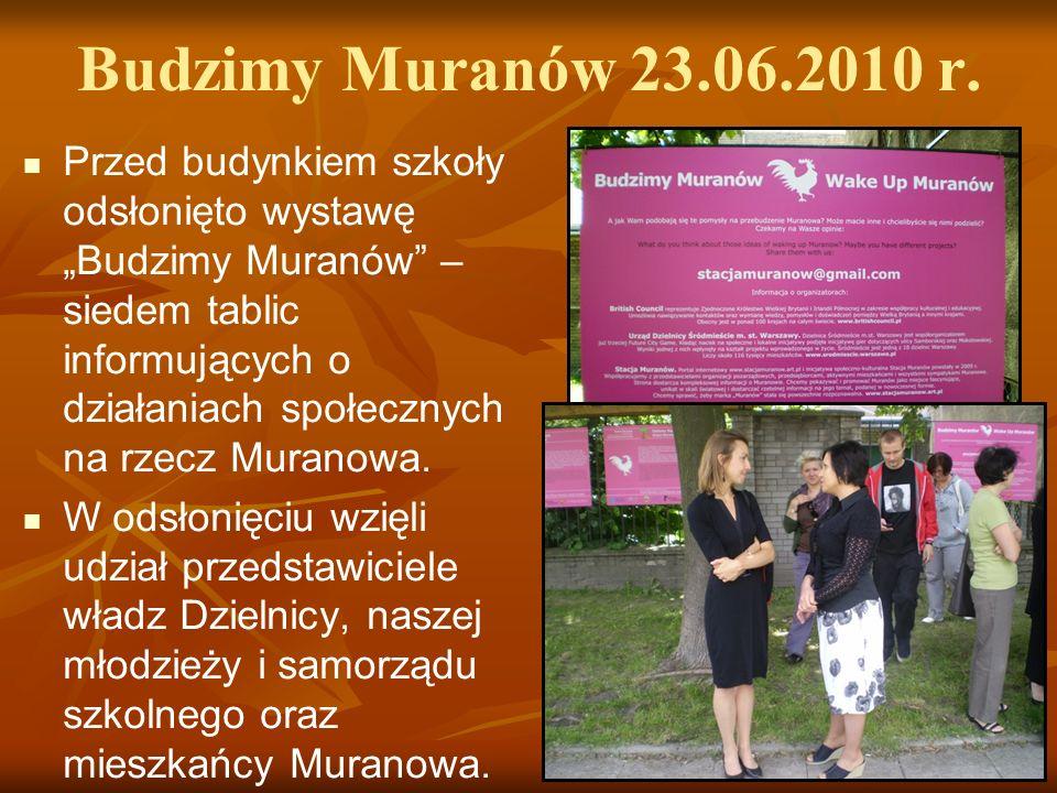 Budzimy Muranów 23.06.2010 r.