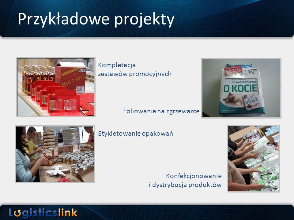 Przykładowe projekty Kompletacja zestawów promocyjnych