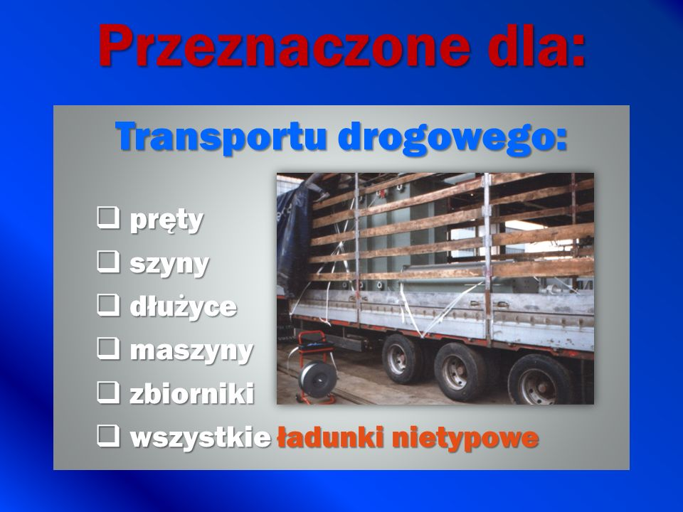 Transportu drogowego: